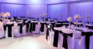 housse de chaise mariage classique avec noeud